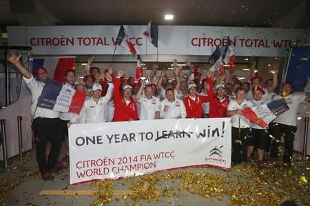 Citroën se hace con el título en el Mundial de Turismos