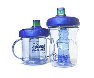 Tazas para niños con centro refrigerante