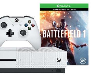 Pack Xbox One S de 500GB con el juego Battlefield 1 por 224 euros y envío gratis
