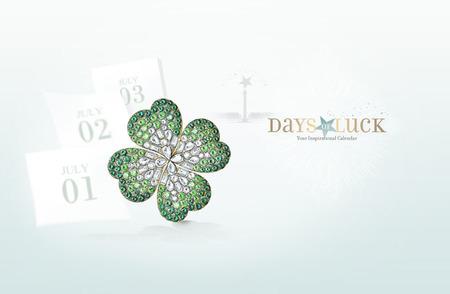 """""""Days of Luck"""" de Van Cleef & Arpels para los más afortunados o para los que creen en la suerte"""