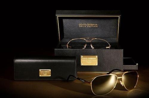 eefd82af9a Las gafas de sol de Dolce & Gabbana: el modelo aviador en oro