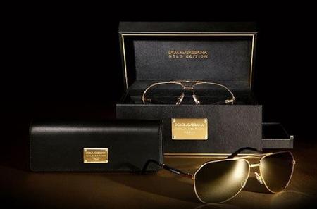 4af9b8034a Las gafas de sol de Dolce & Gabbana: el modelo aviador en oro