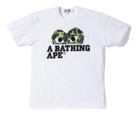 Comme garcons x a bathing ape 3