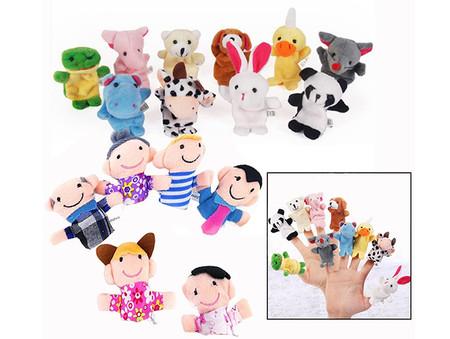 Marionetas De Dedo Animales