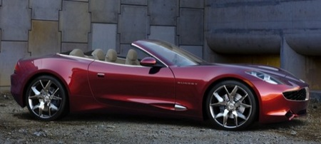 Fisker Karma S Concept: tiembla Tesla Roadster