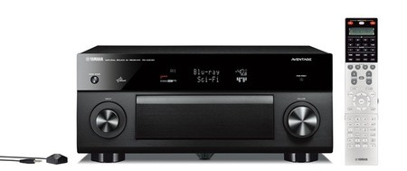Yamaha presenta tres nuevos receptores A/V de gama media-alta
