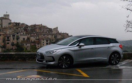 Citroën DS5, presentación y prueba en Niza (parte 1)