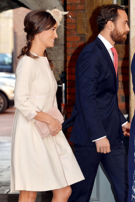 Pippa Middleton look bautizo George