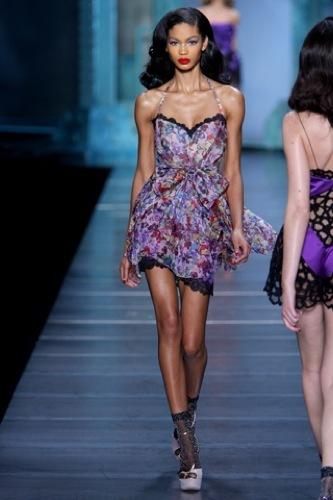 El estampado floral dominará la Primavera-Verano 2010: vestidos para tomar nota, Christian Dior
