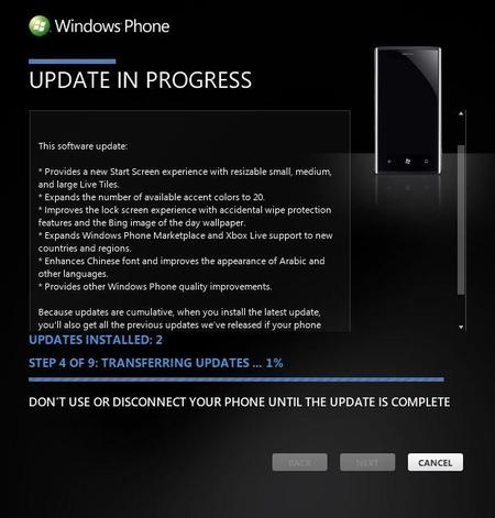 Dell Venue Pro también recibe Windows Phone 7.8