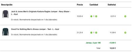 Esta oferta de Zavvi es tremenda: 2 jerseys por 18 euros. Atención que finaliza el 10 de abril