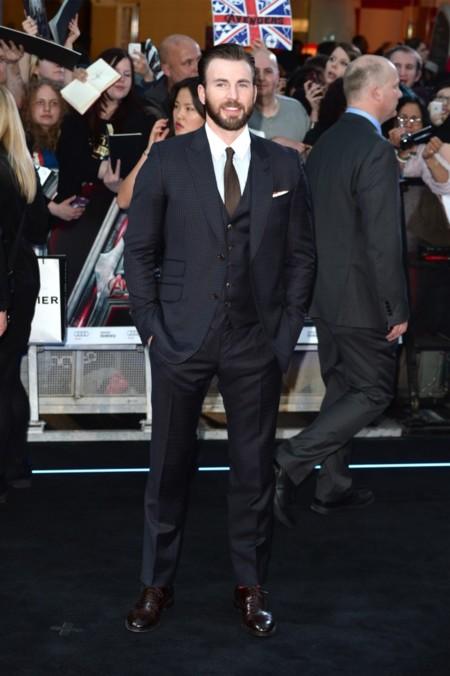 Chris Evans en modo gentleman