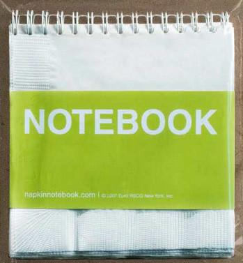 NapkinNotebook, apúntalo en una servilleta
