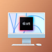 """El colorido y potente iMac de 24"""" con chip M1 está rebajado en Amazon a 1.369 euros, su precio más bajo hasta la fecha"""