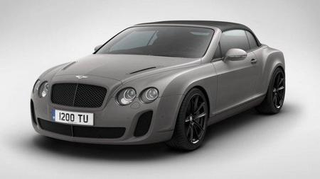 "Bentley Supersports ""Ice Speed Record"", limitado a 100 unidades"