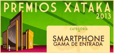 Mejor smartphone de entrada de 2013, vota por tu favorito para los Premios Xataka
