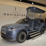 "Lincoln Navigator Concept: otro SUV con ""alas de gaviota"""