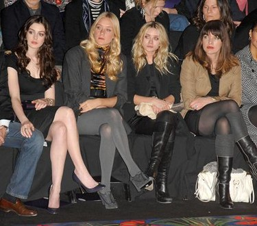 Desfile de Miss Sixty: una front row de súper lujo