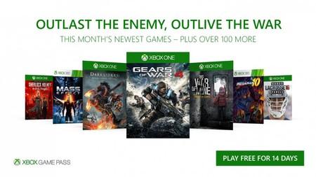 Xbox Game Pass Diciembre