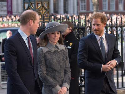 Kate Middleton magníficamente bien escoltada durante el Commonwealth Day