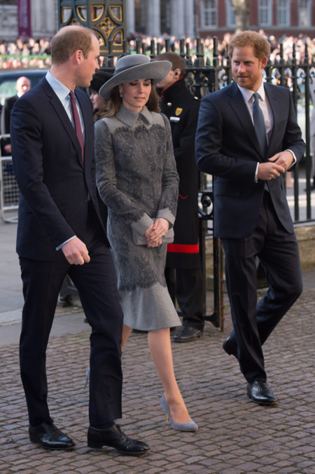Kate Middleton magníficamente bien escoltada durante el Commonwealth Day