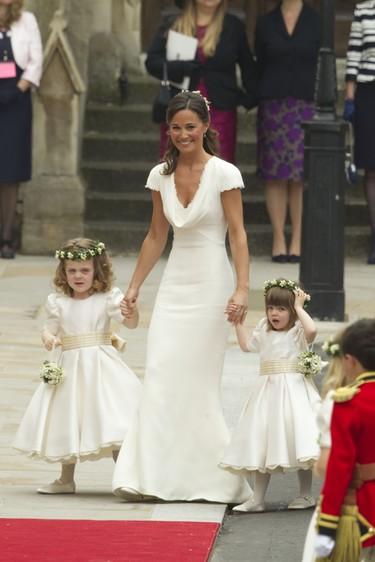 Todos los rumores acerca del vestido de novia de la boda del año (Sí, la de Pippa Middleton)