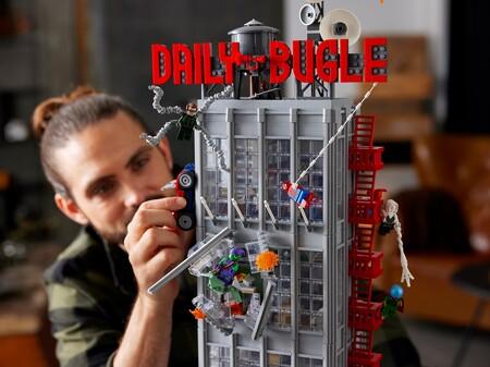 Nuevo Set Lego Spider Man Daily Bugle Mexico Precio Disponibilidad