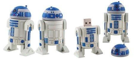 R2-D2 como pendrive USB