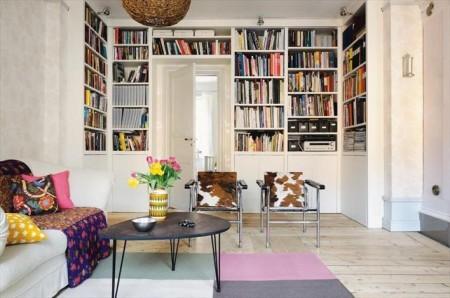 Foto de Casas que inspiran: aprovechar el espacio también en una casa amplia (7/12)