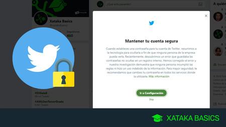 Cómo cambiar la contraseña de Twitter y otras medidas para proteger tu cuenta