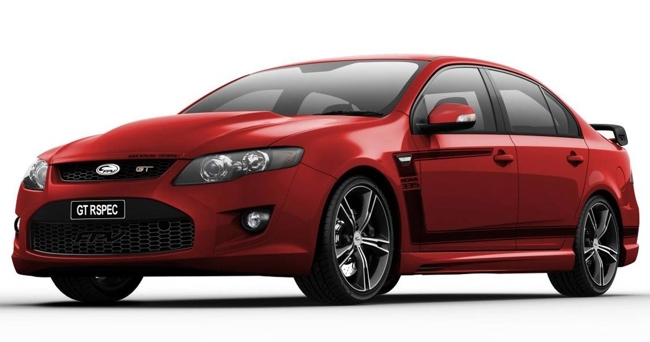 FPV Falcon GT R Spec Limited Edition rojo