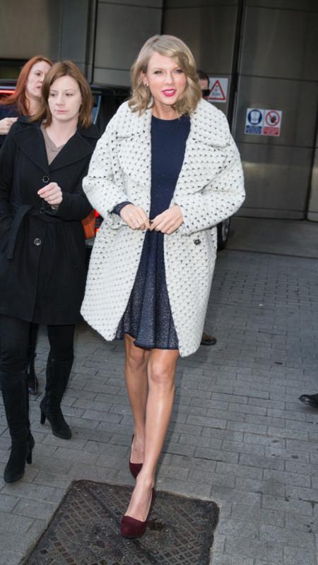 Taylor Swift De La Renta Asos abrigo