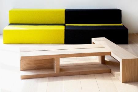 Zig, la colección de mobiliario modular de Cezign
