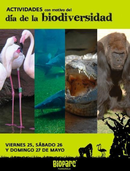 Celebrando el Día de la Biodiversidad y de África en los parques Bioparc