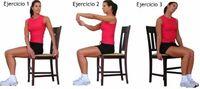 Estira tus músculos mientras trabajas