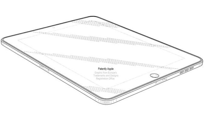 apple ipad patente conector 30pin diseño