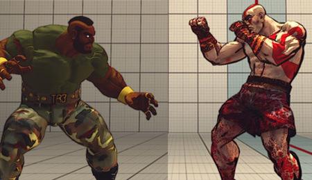 Kratos, Duke Nukem, Mr. T y Doraemon ya son luchadores de 'Street Fighter IV'