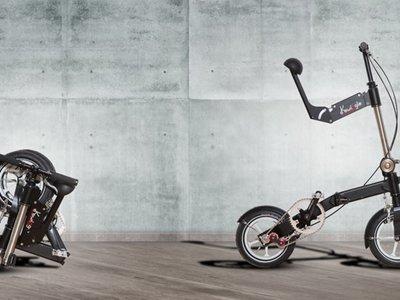 Kwiggle es la bicicleta plegable más pequeña del mundo que espera revolucionar el trasporte urbano