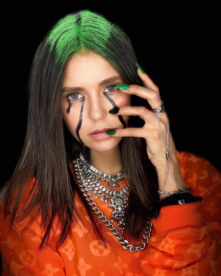 Nina Dobrev Billie Eilish Halloween 2019 03