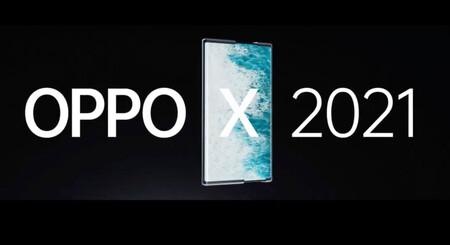 Así es el primer móvil enrollable real: el OPPO X 2021 aparece en vídeo desvelando sus secretos