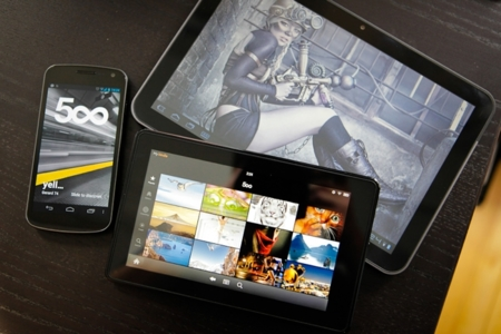 500px llega finalmente a Android