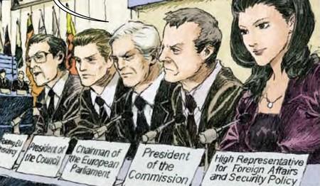 La Unión Europea financió en 2011 un cómic sobre cómo respondería a una pandemia. Y da gloria verlo