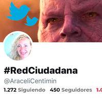 Araceli Centimín, la Thanos de Twitter que ha bloqueado a miles de usuarios