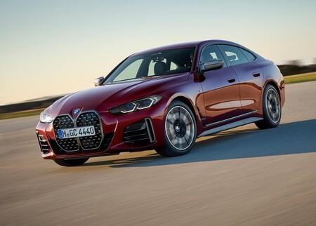 El BMW Serie 4 Gran Coupé es todo lo que viste en el i4 eléctrico, pero a combustión
