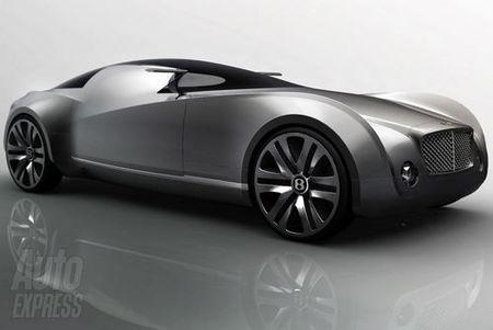 El Bentley del futuro ya está dibujado en un boceto