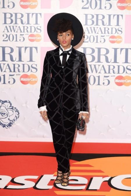 Janelle Monae Brit Awards 2015 1