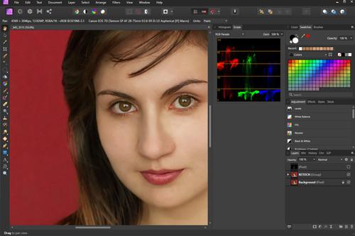 Primeros pasos en Affinity Photo, una de las alternativas a Photoshop: el retoque y la exportación de imagen