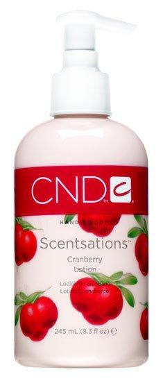 Loción hidratante perfumada CND para el cuerpo 'Cranberry Scentsations'. Mi prueba
