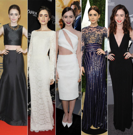 Lily Collins mejores looks 2013