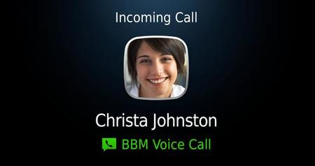 BBM Voice, llamadas sobre WiFi llegan a BlackBerry Messenger